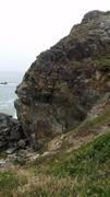 Rock Climbing Photo: View of Wedding Rock as you are walking down the c...