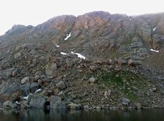 Frozen Lake Boulders.