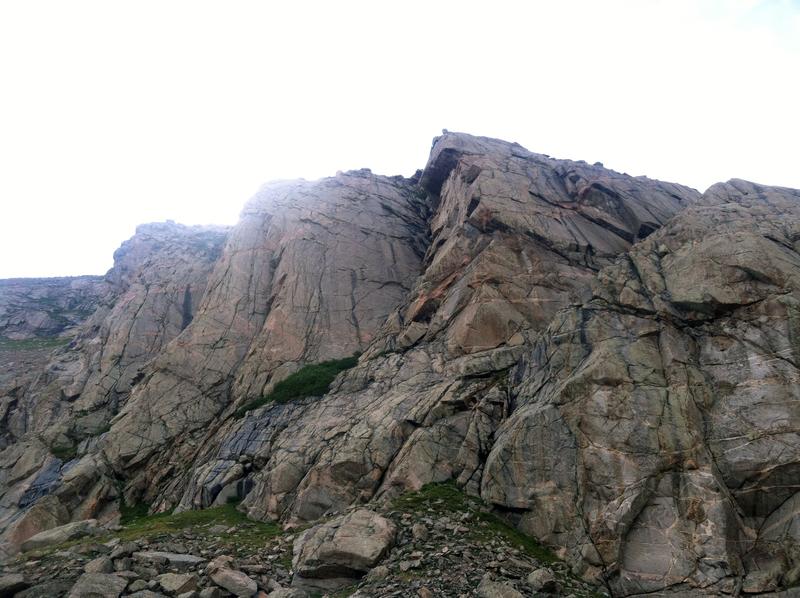 Rock Climbing Photo: Open Books.