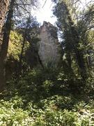 Rock Climbing Photo: Walking up to Junior/Stiffy wall
