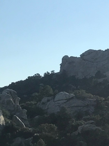 We found Jay Leno in the City of Rocks