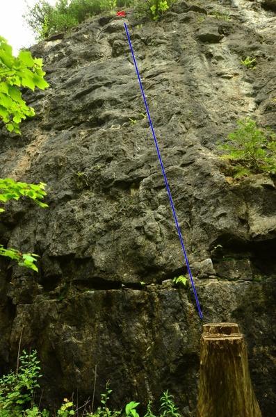 Rock Climbing Photo: All aboard the train.