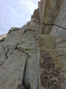 Rock Climbing Photo: Pitch 1. Full 60m pitch