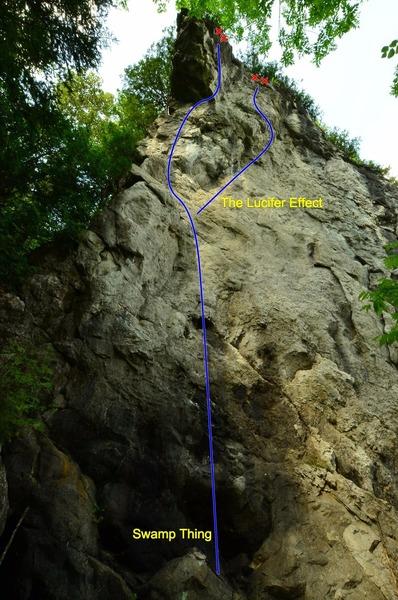 Rock Climbing Photo: White Castle Wall