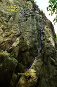 Rock Climbing Photo: star wars