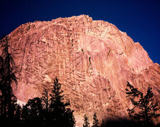 Rock Climbing Photo: The 900 ft. East Face of the Silver Turret. Photo ...