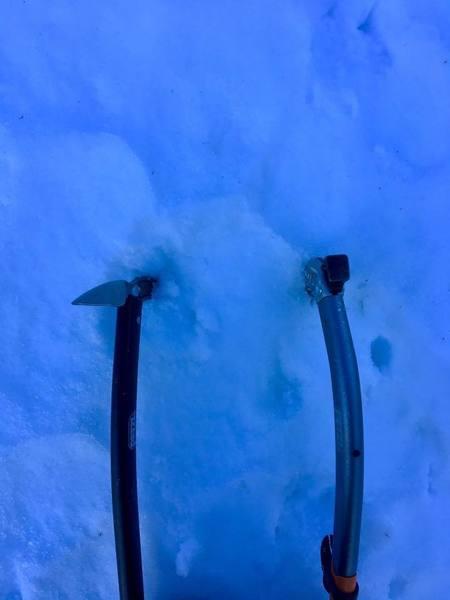 Rock Climbing Photo: Needed the 2 ice tools