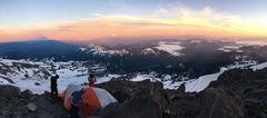 Rock Climbing Photo: High camp, just below Camp Hazard (July 3, 2017)