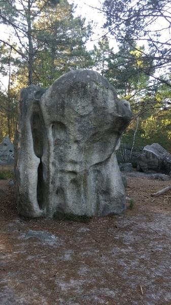 strange boulders