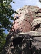 Rock Climbing Photo: Rick on Brinton's