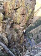 Rock Climbing Photo: Half Mast.