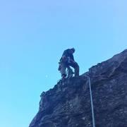 Rock Climbing Photo: Peanut Butter!