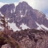 "1973 photo. Possibly ""The Castle"" or ""The Incisor""? Anyone climbed this?"