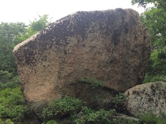 Rock Climbing Photo: Innis Boulder