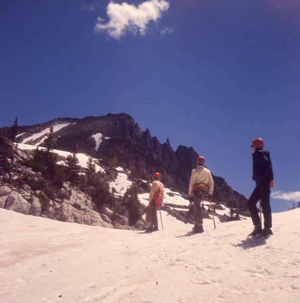 Basic snow skills taught below 11777, 1968.