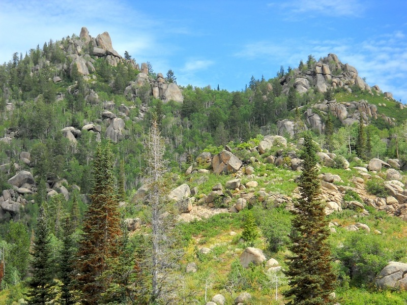 Rock Climbing Photo: Rocky Peak on the left taken from the beaver dams....