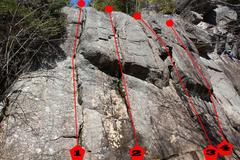 Rock Climbing Photo: 1. Frein moteur 5.5 (trad) PA: JC Néolet et L. L...