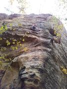 Rock Climbing Photo: Margarita Martinez on Icebreaker