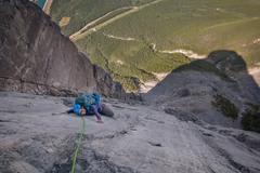 Rock Climbing Photo: Pitch 10