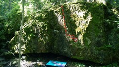Rock Climbing Photo: Suburban