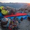 comfy bivy on the summit