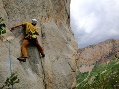 Rock Climbing Photo: Intro moves on Over & Out!!