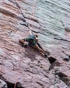 Rock Climbing Photo: Fun moves!