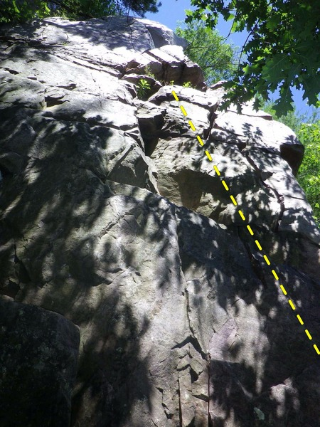 Rock Climbing Photo: The Slot