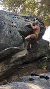 Rock Climbing Photo: Nice boulder off of Kitchen Creek Rd.