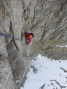 Rock Climbing Photo: At the end of the FAT. Kats first alpine climb, fi...