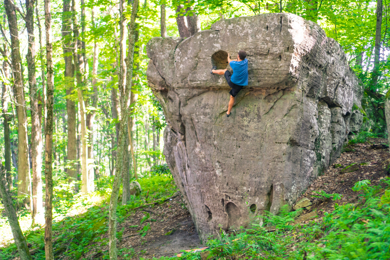 """Holy Guaca""""MOLY"""" that is a fun boulder!"""