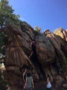 Rock Climbing Photo: The Tree Hugger.