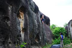 Rock Climbing Photo: Jungle Move V4