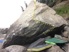 Rock Climbing Photo: Low and rad