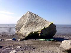 Rock Climbing Photo: Rad line