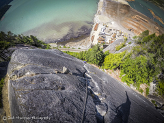 Rock Climbing Photo: Fun, easy climb with a great view