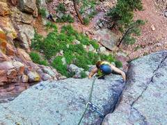 Audrey pulling the 10c roof variation.