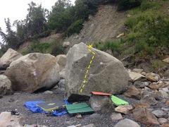 Rock Climbing Photo: Tiny but fun warm-ups