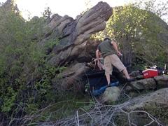 Rock Climbing Photo: Kenny's Proboscus