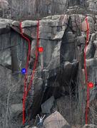 Rock Climbing Photo: Echo Crag right