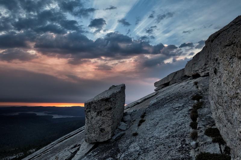 Rock Climbing Photo: Slick Rock Sunset