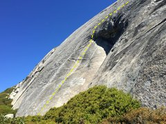 Rock Climbing Photo: P1 of Ice House Roof