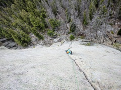 Rock Climbing Photo: the amazing, clean crack