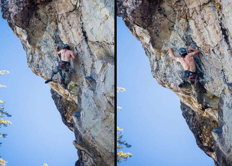 Rock Climbing Photo: Sweeeeeeet moves.
