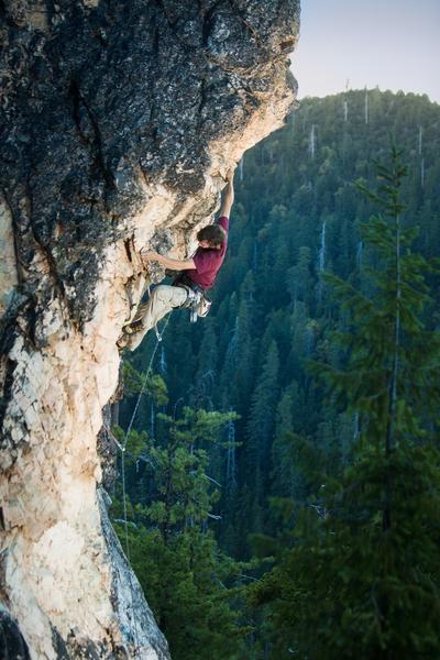 Rock Climbing Photo: Conspicuous Bulge, short but good!