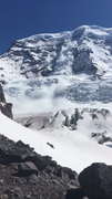 Rock Climbing Photo: Liberty ridge from lower Curtis ridge. also an ava...