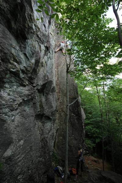 Rock Climbing Photo: One of the corner climbs at the Lower Tier