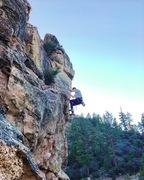 Rock Climbing Photo: Jake on the headwall