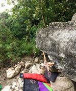 Rock Climbing Photo: Joey on Southeast Arête
