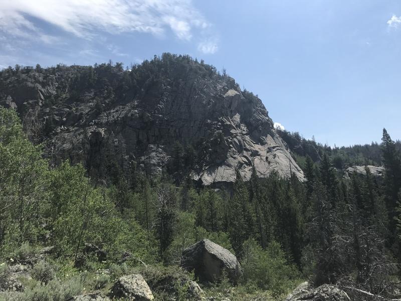 Rock Climbing Photo: Scab Creek Buttress